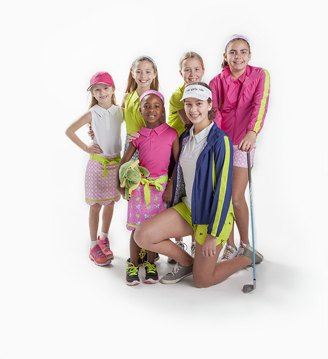 Turtles and Tees junior girl golfers