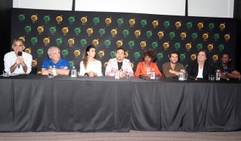 New York - Brazil Day Press conference. (Photo by: Luiz C. Ribeiro/TV Globo)