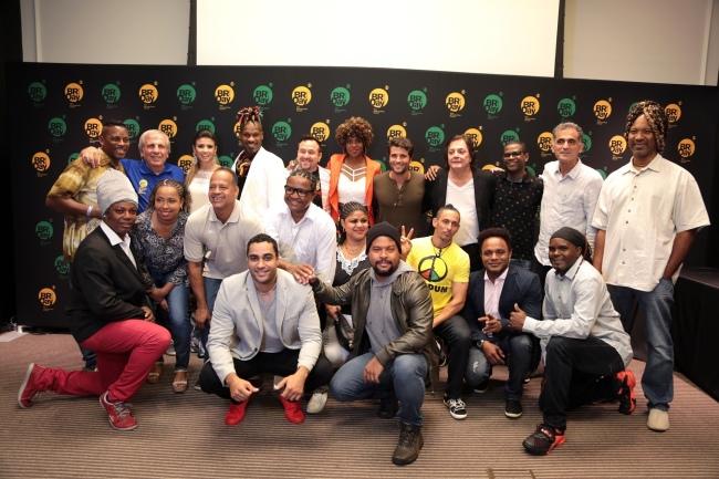 New York - Brazil Day Press conference. (Photo by: Luiz C. Ribeiro/TV Globo)