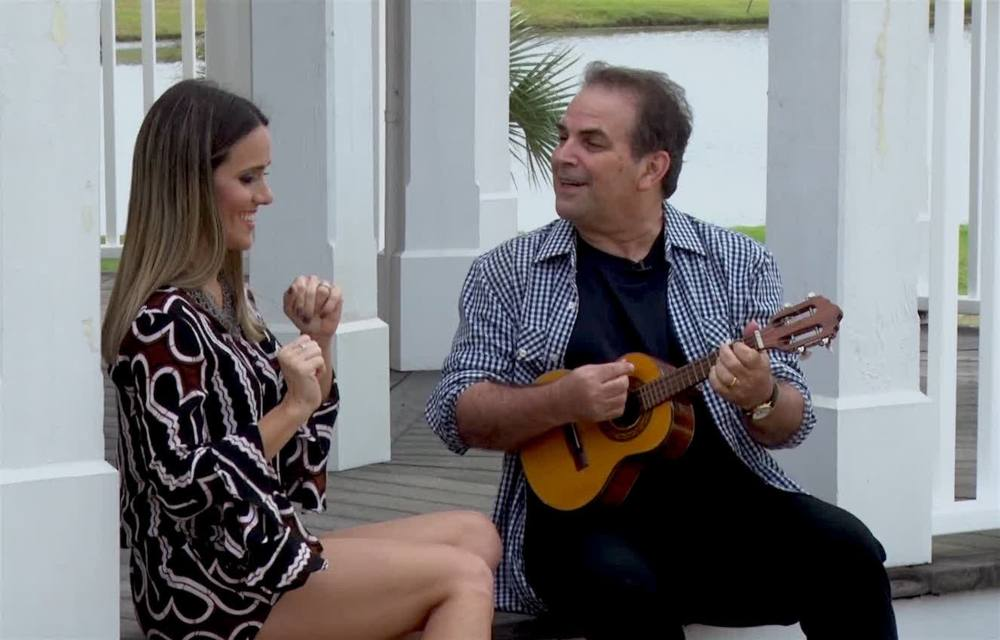 Fernanda Pontes e Paulinho Razão